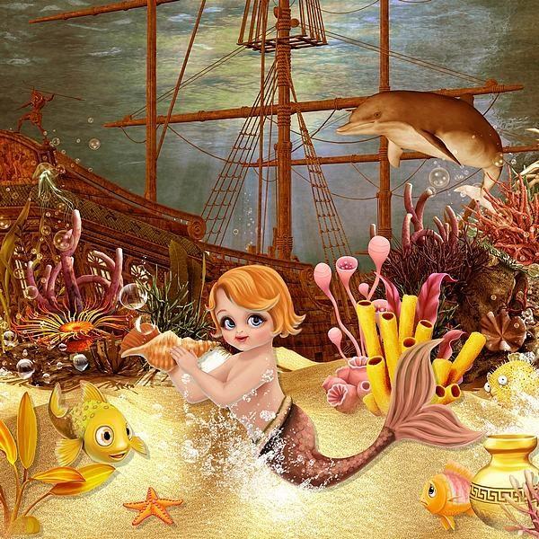 Acidulate Underwater by Kitty Scrap