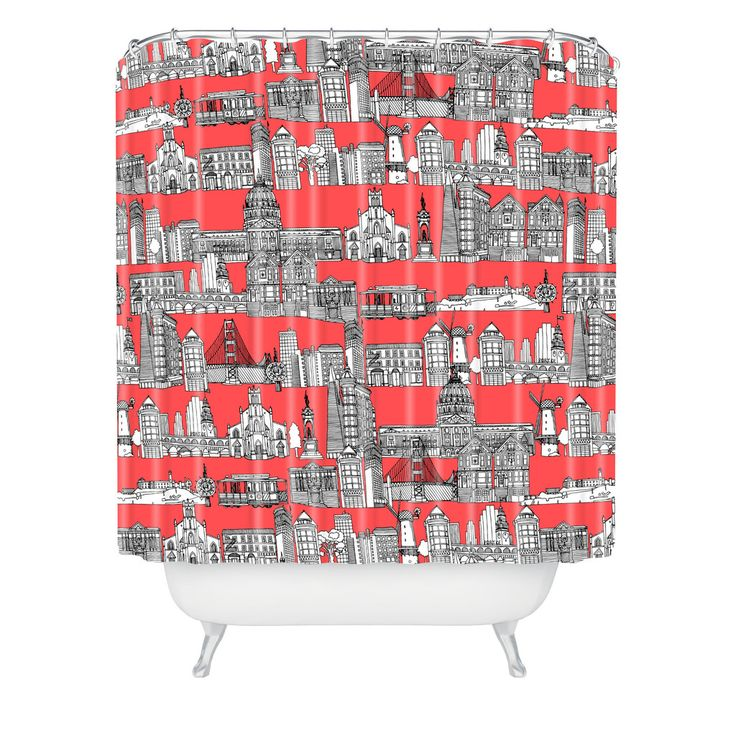 navy coral shower curtain. Sharon Turner San Francisco Coral Shower Curtain Best 25  shower curtains ideas on Pinterest Teal kid