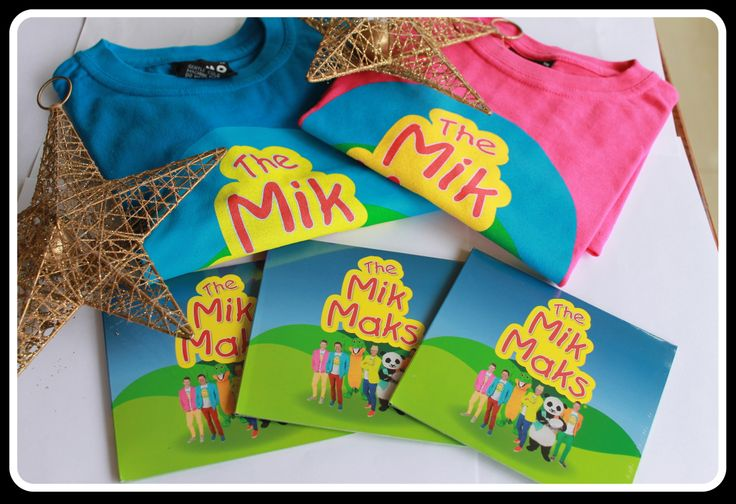 The Mik Maks- Australias Newest Childrens Entertainment Band!!!  www.facebook.com.au/themikmaks www.themikmaks.com.au CD's and Tshirts $20 Each... The kids will love them....