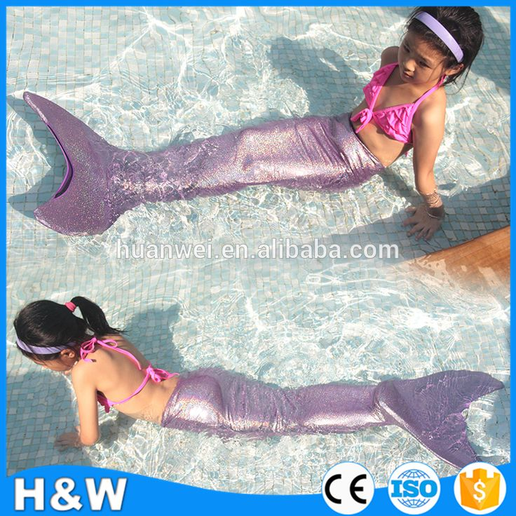 Check out this product on Alibaba.com App:Brightly Purple mermaid tails for swimming Wholesale costume kids swimwear bikini 2017 https://m.alibaba.com/eeANfq