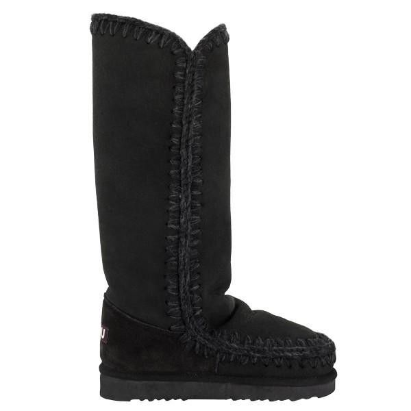 Mou Tall Eskimo Boots Women Black - MOU Christmas Day Deals (299€->224.25€) AVAILABLE NOW! #christmas #ChristmasSale #christmasdeals
