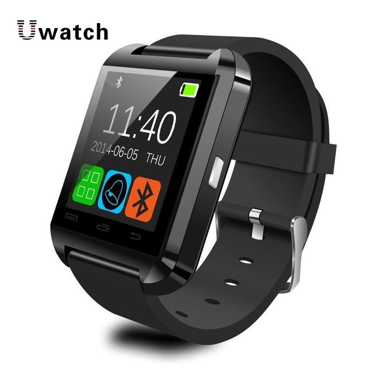 """Bluetooth Smart Watch Smartwatch U8 U80 U MTK Handsfree Digital-watch Sport Bracelet Wristband for Android Phone iPhone Samsung - Ivory/Piano Black/Rose red. Android System can support all function in the description. IOS only support: Pedometer, Calendar, Call Sync, Calculator, Clock, Stopwatch. Remote taking photo function:You can control your cellphone to take photo from your wrist. Need install """"BTNotification"""".Windows phone can't use the watch. Notice:the default color is Piano Black..."""