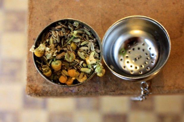 zelf een thee-mengeling maken
