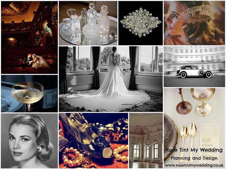 Vintage Hollywood Glamour wedding inspiration. Need help with any aspects of wedding planning or styling? visit www.rosetintmywedding.co.uk