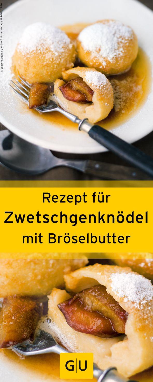 """Herbstliches Rezept für Zwetschgenknödel mit Bröselbutter aus dem Buch """"Bauernmarkt & Biokiste"""". ⎜GU http://www.gu.de/magazin/kochen-und-geniessen/786135-der-herbst-ist-da!/"""