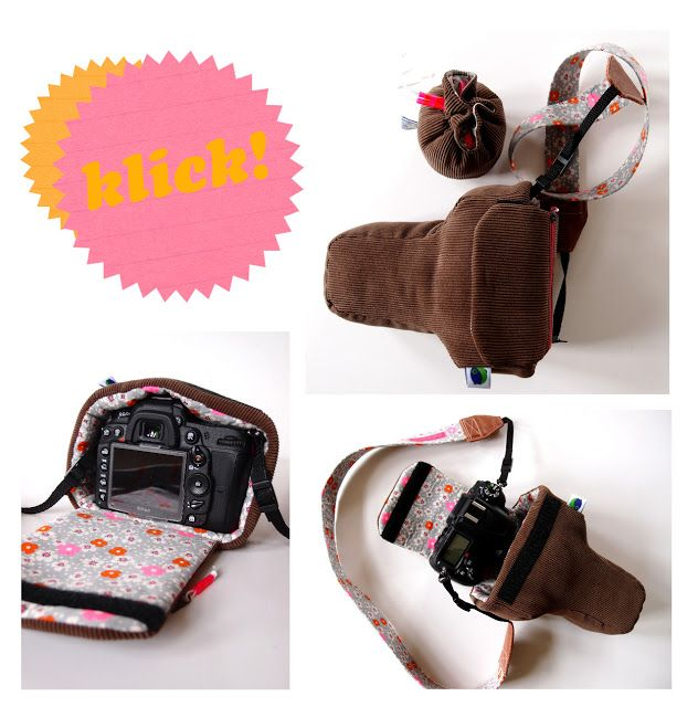 angorafrosch: diy camera bag