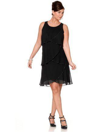 Вечернее платье - http://www.quelle.ru/BigsIzes_fashion/Women_dresses/Woman_Evening_dresses/Plate__r1058914_m275519.html?anid=pinterest&utm_source=pinterest_board&utm_medium=smm_jami&utm_campaign=board5&utm_term=pin33_09042014 Вечернее платье.Идеально для вечеринки! Женственный многоярусный покрой, спереди воланы с эффектом запаха, украшенные по краям бусинами. #quelle #big #size #dress #party #luxury #style #perfect