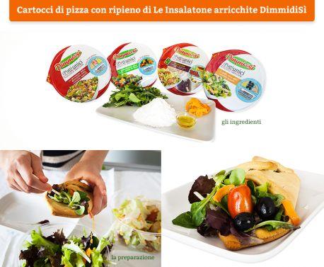 Il cuore caldo dei cartocci di #pizza si riempie di una freschezza tutta naturale!  Scopri le #Ricette di Silvia: http://www.dimmidisi.it/it/dimmicomefai/le_ricette_di_silvia/article/cartocci_di_pizza_con_ripieno_di_le_insalatone_arricchite_dimmidisi.htm - #dimmidisi #ricetta #cucina #recipe #cooking #cuisine #salad