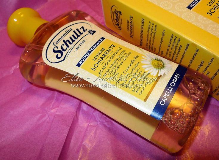 Elisa - Nuvole di Bellezza: Schultz - Recensione Lozione Schiarente, Shampoo e Balsamo Ravvivante, Shampoo e Maschera Ristrutturante, Crema Decolorante
