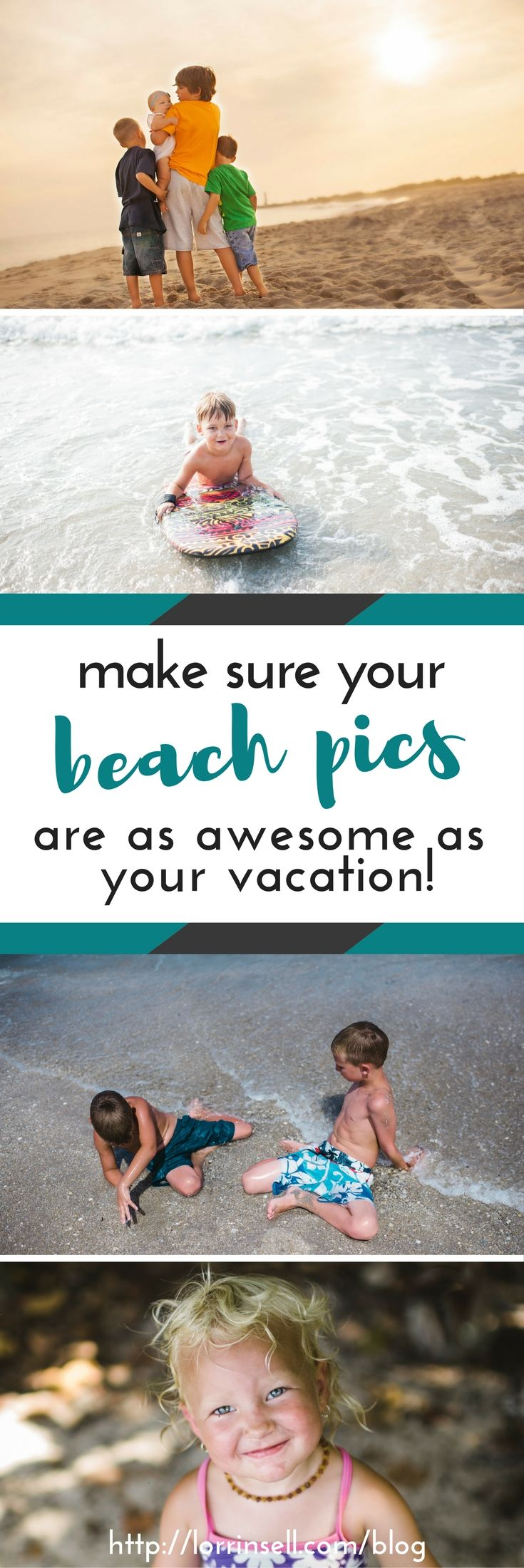 beach pictures are my favorite. i love these tips for taking better pictures of the kids at the beach!