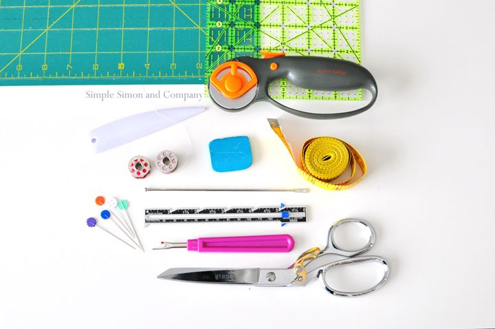 What I Wish I'd Know When I Started Sewing: Simple Sewing Tools - Simple Simon and Company