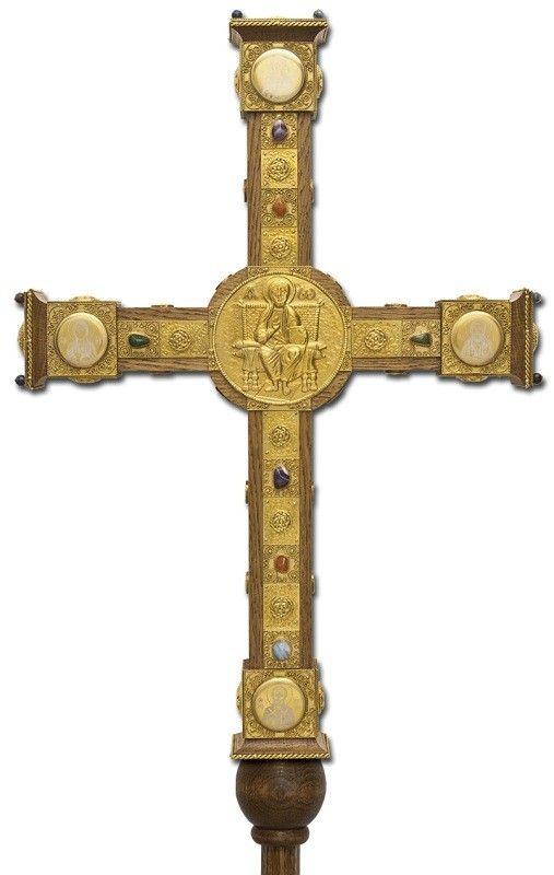 Sanctuary cross, $1,500.00, catalog of St Elisabeth Convent. #catalogofgooddeed…