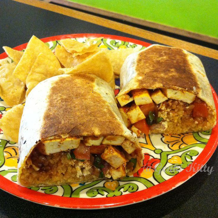 Mucho Mas Vegan BBQ Burrito Indiana