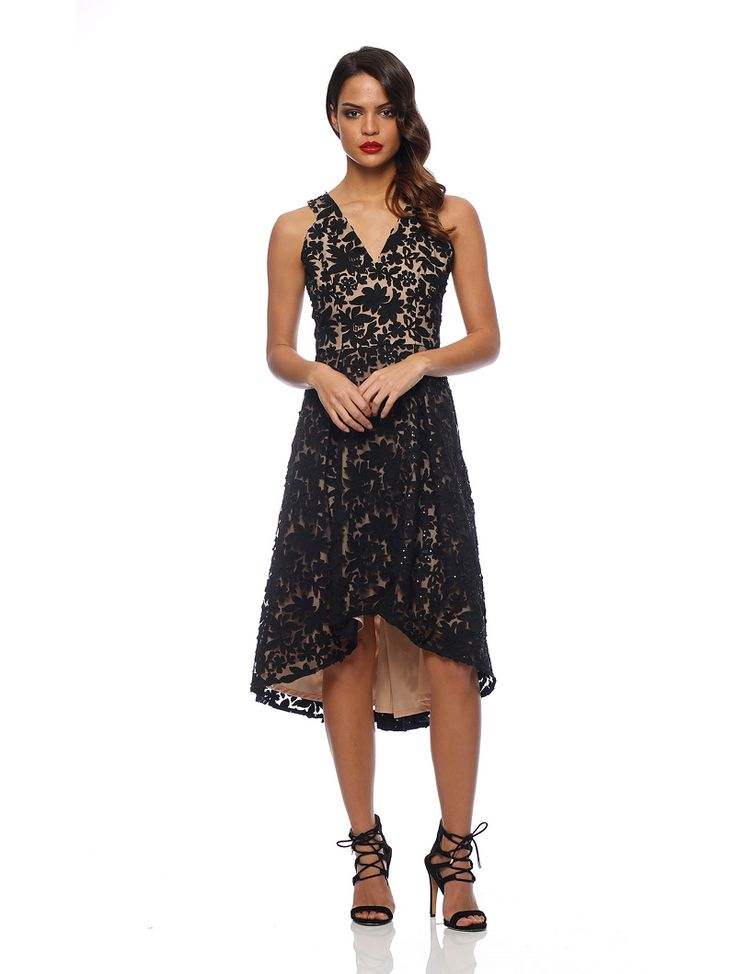 Romance The Label - Mona Ball Dress Black
