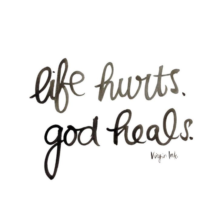 """""""Time doesn't heal all wounds, it's what you do with that time. Give it to God."""""""