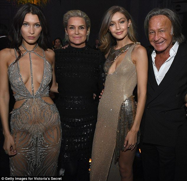 Family fortunes: Property developer patriarch Mohamed Hadid boasts an estimated net worth ...