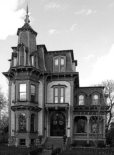This classic Victorian house, across from Riverdale Farm, has all the details you expect to find in a Victorian home. Description from pinterest.com. I searched for this on bing.com/images