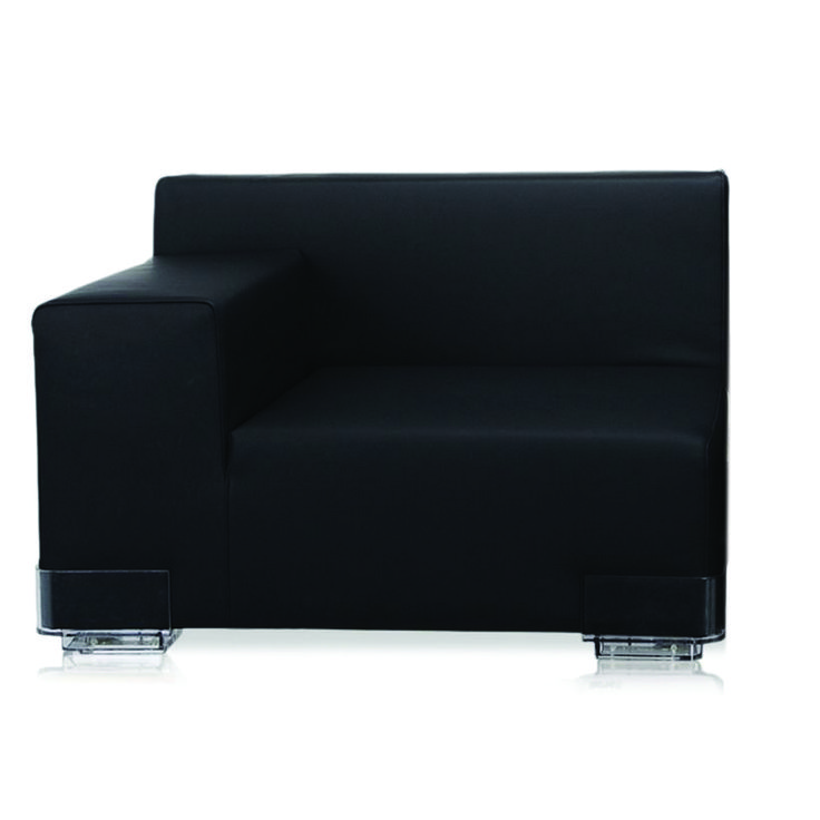 Lazy Boy Sofa Plastics Right Arm Sofa by Kartell Opad