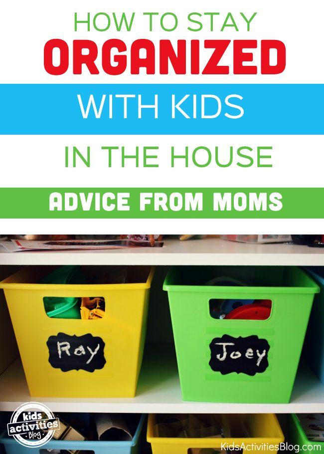 How Do I Keep My House Organized With Kids?