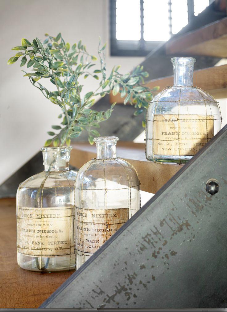 Industriële glazen potten Pronto wonen