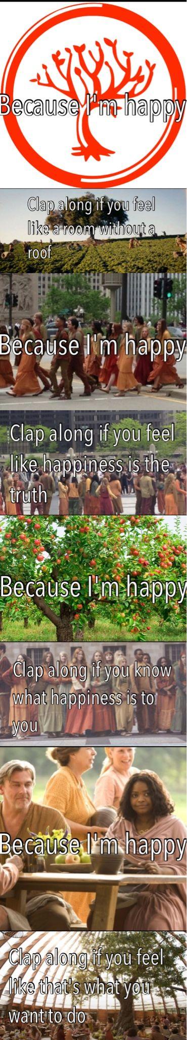 """Happy"" by Pharrell Williams Amity~Divergent & Insurgent"