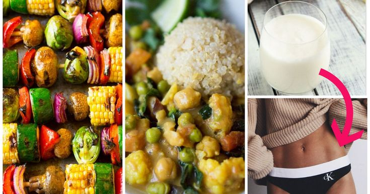 Come sbarazzarsi della grasso in eccesso sull'addome: 10 alimenti per la PANCIA PIATTA