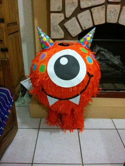 Piñata monstruo