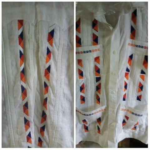 ¿Y qué me dicen de esta camisa ocueña? Perfecta para nuestras fiestas patrias...Aquí en #materialesangie te hacemos estas bellezas y más  #ocueño #trajesestilizados #vestidosestilizados #Panamá #panameño #folclore #panamacity #panamagram #visitpanama