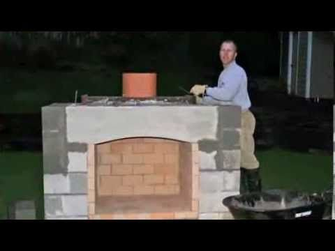How To Build A Stone Fireplace Youtube