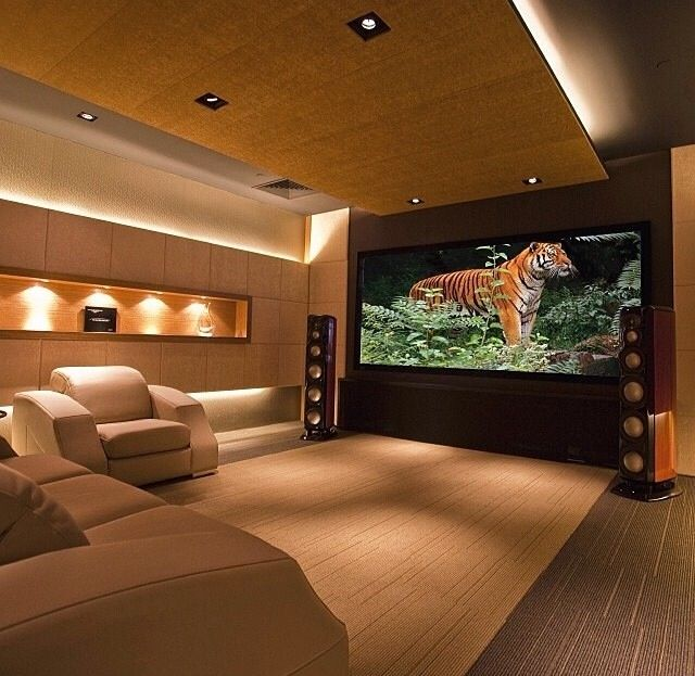 15 Awesome Basement Home Theater Cinema Room Ideas: Best 25+ Home Theaters Ideas On Pinterest