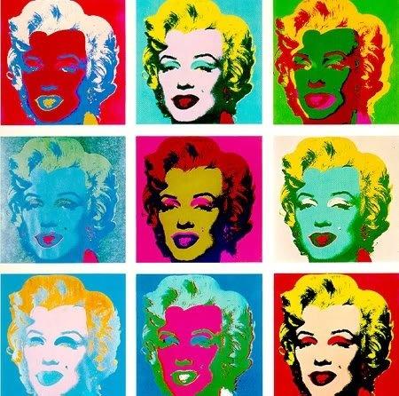 Andy Warhol Marilyn Monroe Art