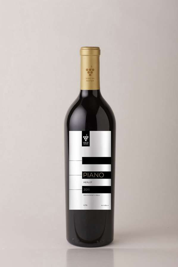 Piano Wine Packaging #wine #vino #winelovers #packaging