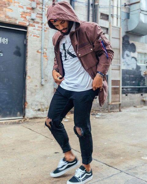 7e3db46b054ce4  VansShoes Mens Cuffed Jeans