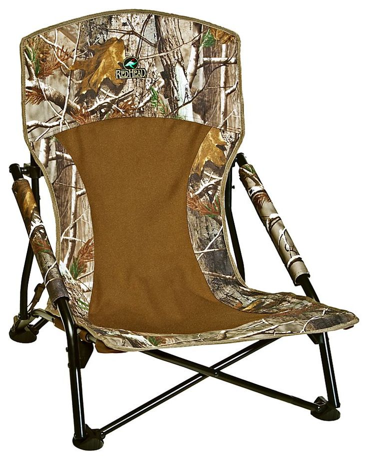 RedHead Turkey Lounger Folding Hunting Chair - Realtree Xtra | Bass Pro Shops // One of our fastest-selling turkey season products! #turkeyhunting #huntinggear
