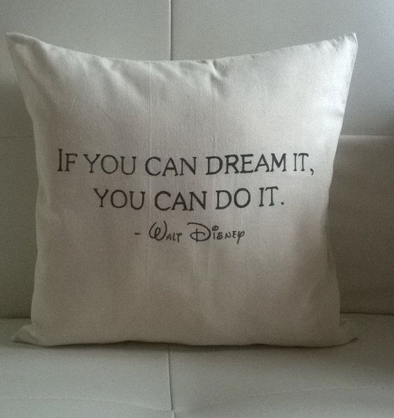Handmade If you can dream it you can do it Walt by melliphant