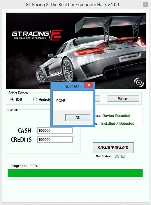 gt racing 2 hack