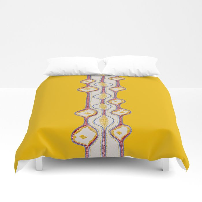 Stitches - growing bubbles 2 Duvet Cover  by VrijFormaat. Available at Society6.com. #duvetcover #bedroomdecor #bubbles