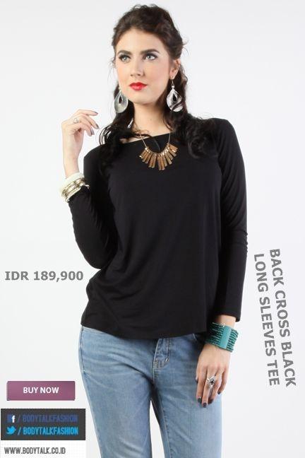 Hey Ladies coba cek koleksi T-Shirt Bodytalk ini untuk terlihat Casual >> http://ow.ly/ufxzz