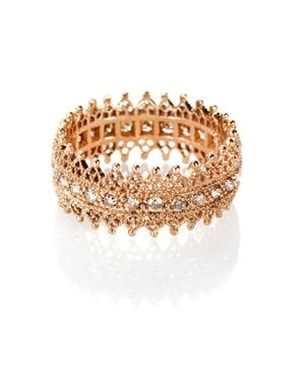 Bague en or rose et diamants de Poiray