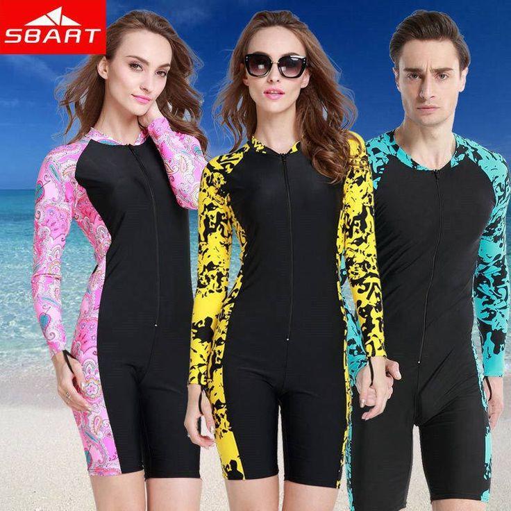 SBART 2015 New Upf50 Wetsuit 1mm Long Swimming Suits For Women Windsurf Lycra Dive Surf Wet Suit Diving Surfing Wetsuits Swim J
