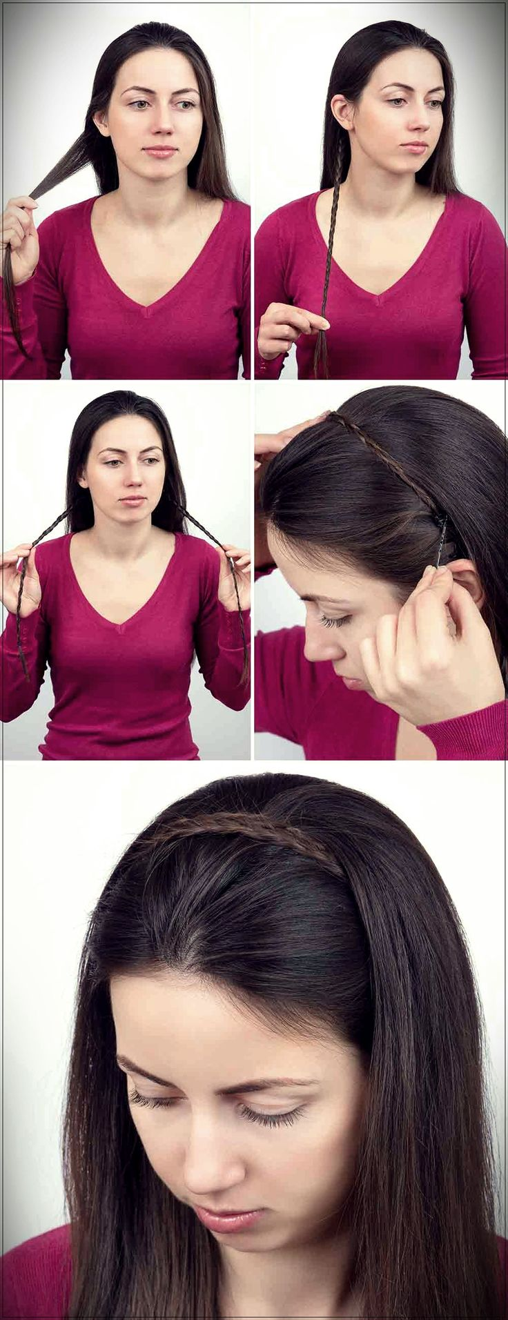 Frisuren mit Zöpfen: Fotos und einfache Tutorials!