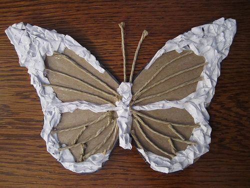 insect collograph: this post has lots of good ideas for making collographs