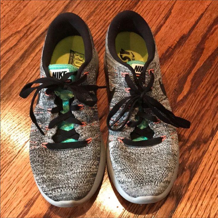 Nike Shoes | Nike Lunarlon Gym Shoe Running Shoe | Color: Black/Gray | Size: 9