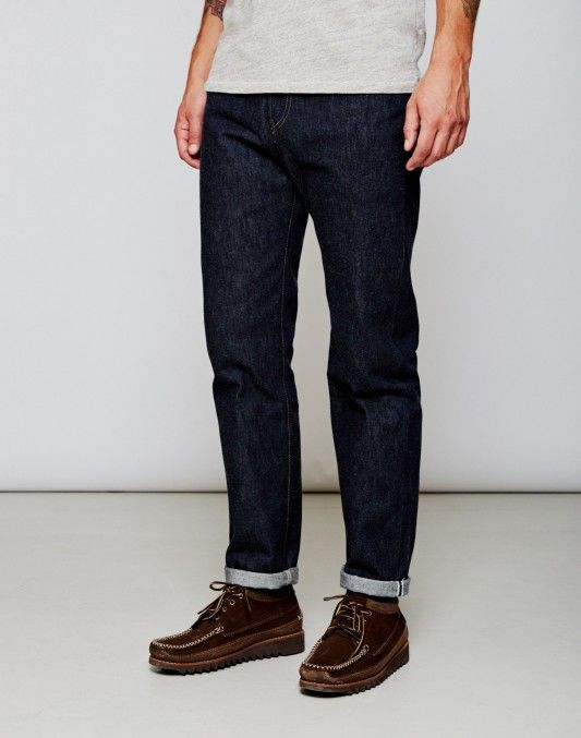 Levi's Vintage Clothing 1954 501 Jeans Rigid Blue ON SALE NOW   Shop all sale at The Idle Man   #StyleMadeEasy