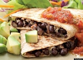 33 Mexican dishes: Quesadillas Recipes, Dinners Recipes, Black Bean Quesadillas, Yummy Food, Mexicans Dishes, Savory Recipes, 33 Mexicans, Favorite Recipes, Vegetarian Recipes