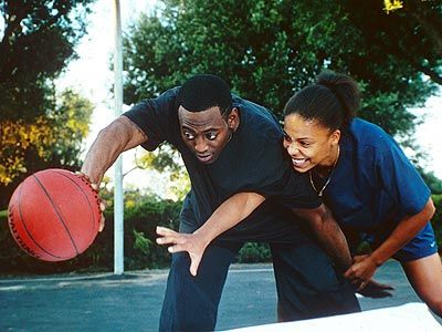 Love & Basketball Couple Quincy McCall and Monica Wright
