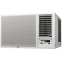 LG LW1816HR 18,000 BTU 230V Window-Mounted Air Conditioner with 12,000 BTU Supplemental Heat Function