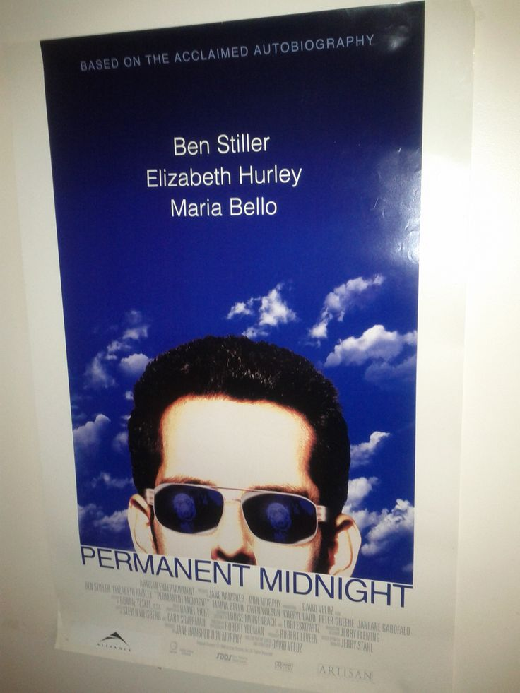 Permanent Midnight Poster $10.50 (Plus Shipping and Handling)