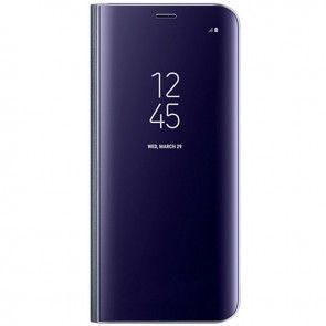 Husa Samsung Galaxy S8 (G950), EF-ZG950CBEGWW, Originala, Tip Carte, Culoare Violet, Clear View