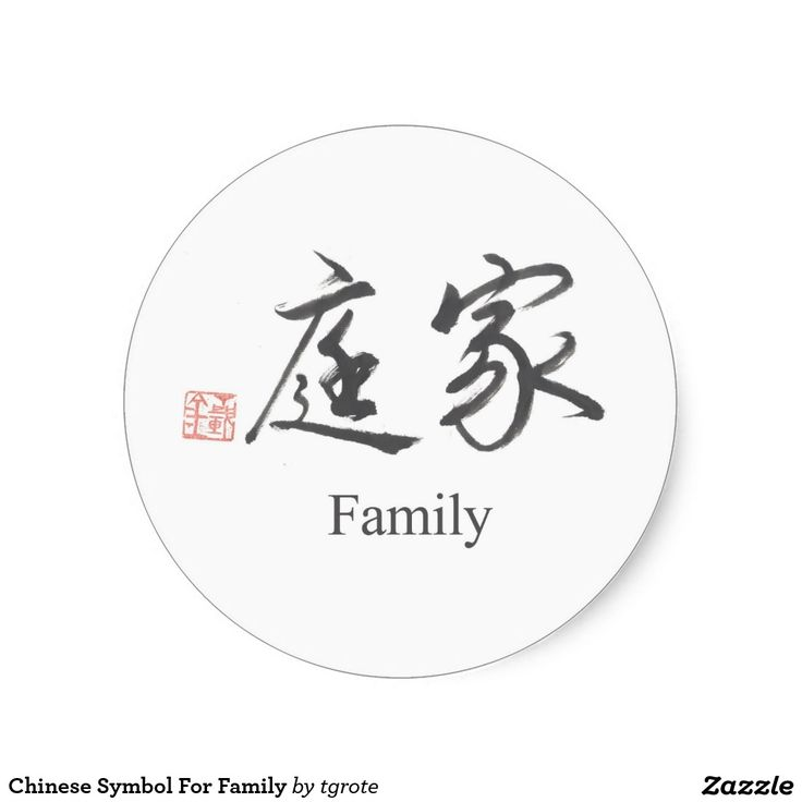 family chinese symbol tattoos wwwimgkidcom the image